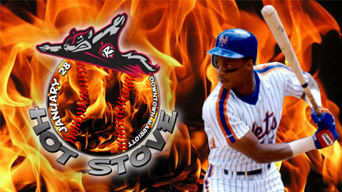 Darryl Strawberry was the 1983 NL Rookie of the Year with the New York Mets.